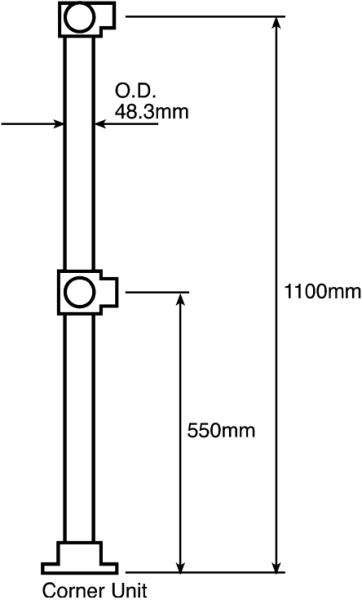 Quick Handrail Railing Kits By Ipm Fittings Ltd