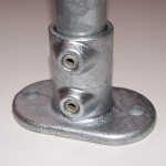 Base flange for our key clamp system